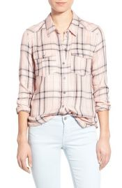 Paige Denim Mya Plaid Shirt at Nordstrom