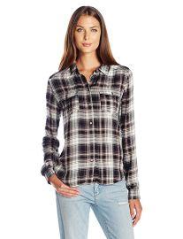 Paige Mya Shirt in Black Adobe Rose at Amazon