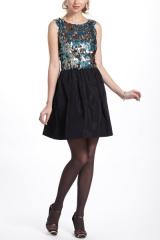 Paillette Flutter Mini Dress at Anthropologie