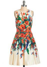 Paint She Sweet Dress at ModCloth