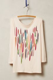 Painterly Tee at Anthropologie