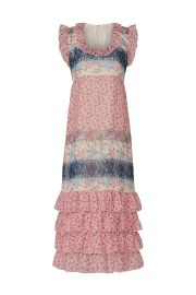 Paisley Garden Border Dress by Anna Sui at Rent The Runway