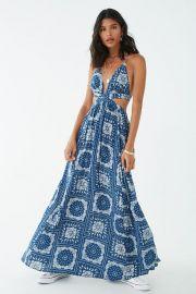 Paisley Print Halter Maxi Dress at Forever 21