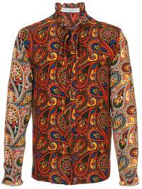 Paisley-Print Shirt  JW Anderson at Farfetch