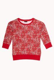 Paisley Sweatshirt at Forever 21