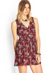Paisley dress at Forever 21