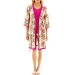 Paisley print robe by Insomniax at JC Penney