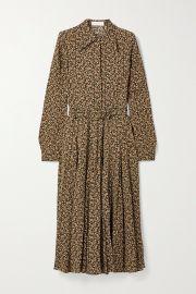 Paisley-print silk crepe de chine shirt dress at Net A Porter