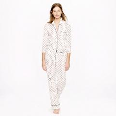 Pajama Set in Fleur de Lis at J. Crew