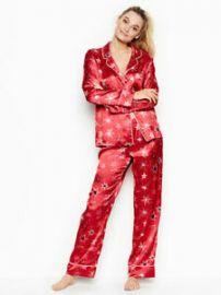 Pajamas Set Red Star Bright Pajama at Amazon