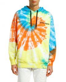 Palm Angels Men  x27 s New Basic Tie-Dye Hoodie at Neiman Marcus