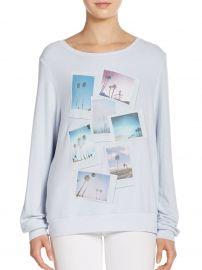 Palm Polaroid Sweatshirt by Wildfox at Saks Off 5th