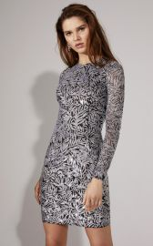 Palmetto Paillette Sheath Dress at Moda Operandi