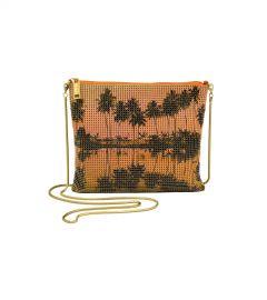 Palms Crossbody Bag at Whiting & Davis