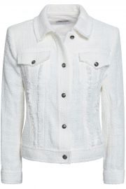 Paloma frayed cotton-tweed jacket at The Outnet