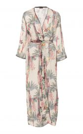 Palomino Printed Robe by Loborosa at Moda Operandi