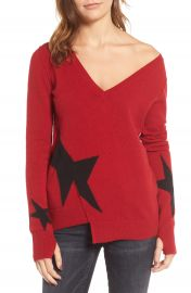 Pam   Gela Star Asymmetrical Sweater at Nordstrom