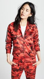 Pam  amp  Gela Camo Track Jacket at Shopbop