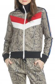 Pam  amp  Gela Colorblock Track Jacket   Nordstrom at Nordstrom