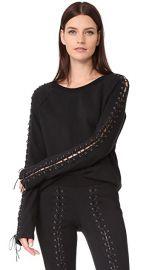 Pam  amp  Gela Laced Sweatshirt at Shopbop