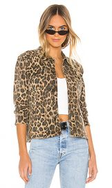 Pam  amp  Gela Leopard Army Shacket in Leopard from Revolve com at Revolve