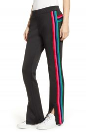 Pam  amp  Gela Rainbow Stripe Track Pants   Nordstrom at Nordstrom