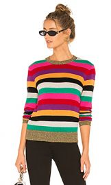 Pam  amp  Gela Stripe Sweater in Multicolor from Revolve com at Revolve