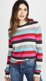Pam  amp  Gela Striped Pullover at Shopbop