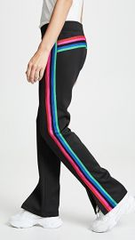 Pam  amp  Gela Track Pants with Rainbow Stripes at Shopbop