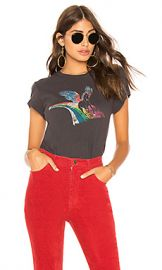 Pam  amp  Gela Unicorn Crew Neck Tee in Vintage Black from Revolve com at Revolve