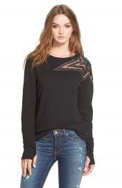 Pam and GelaEmbellished Star Sweatshirt at Nordstrom
