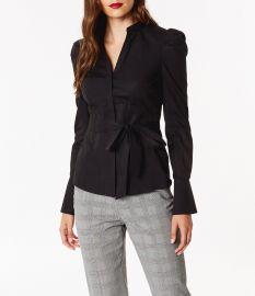 Panelled Waist Shirt at Karen Millen
