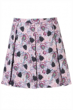 Panther print skirt at Topshop at Topshop