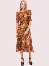Panthera Clip Dot Dress at Kate Spade