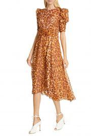 Panthera clip dot silk dress at Nordstrom Rack