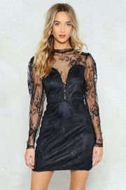 Papa Dont Preach Lace Dress at Nasty Gal