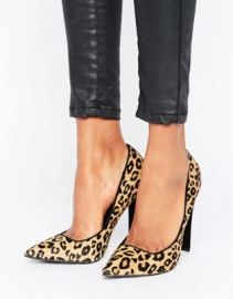 Paper Dolls Leopard Print Court Shoe at asos com at Asos