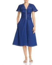 Paper London Carmela Zip Front Dress Women - Bloomingdale s at Bloomingdales