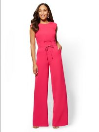Paperbag-Waist Jumpsuit  New York and Company at NY&C