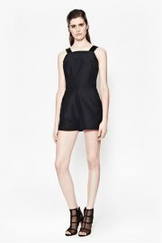 Paradise Satin Playsuit at French Connection