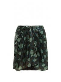 Paris silk-blend mini skirt at Matches