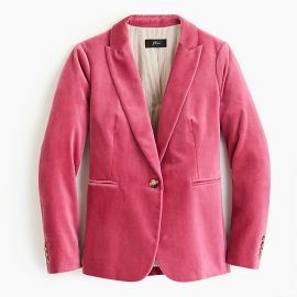 Parke Blazer in Velvet at J.Crew