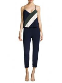 Parker - Frida Combo Jumpsuit at Saks Fifth Avenue