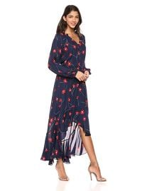Parker Women s Verity Button Front High Low Maxi Dress at Amazon