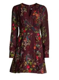 Parker - Brooke Ruffled Floral Dress at Saks Fifth Avenue