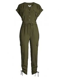 Parker - Cayman Cargo Jumpsuit at Saks Fifth Avenue