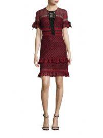 Parker - Emilia Ruffle Lace Dress at Saks Fifth Avenue