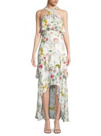 Parker - Fillipa Floral Hi-lo Dress at Saks Fifth Avenue