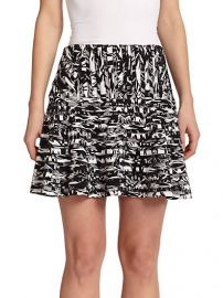Parker - Harmony Printed Skirt at Saks Fifth Avenue