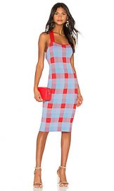 Parker Ayla Knit Dress in Plaid from Revolve com at Revolve